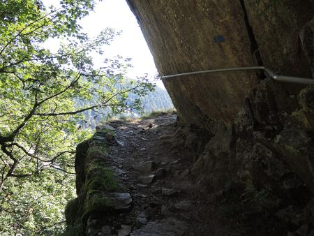 Sentier de Roche - Felsenpfad