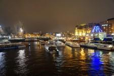 Bild Amsterdam bei Nacht