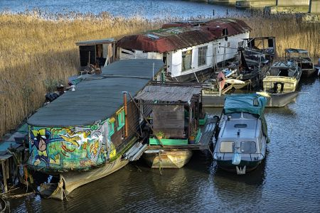 Bild Hausboot am Flevopark