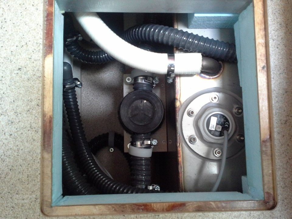 Bild Syphon, Schwarzwassertank