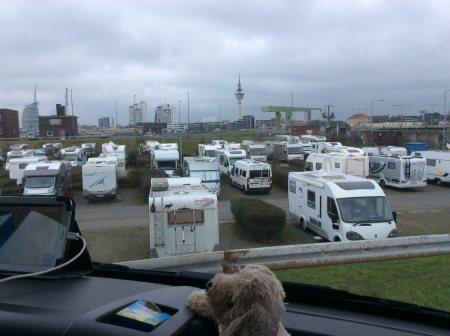 Bild Stellplatz Bremerhaven Schleuse