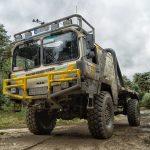 Truck im Matsch
