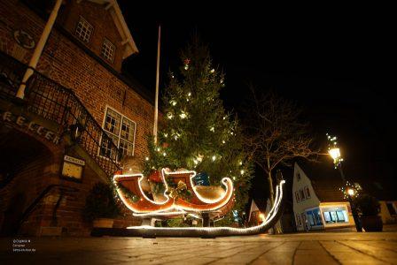 Weihnachtsmann in Otterndorf