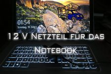 Notebook 12 V Netzteil