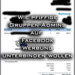 Facebook Rechnung