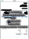 Facebook-Werbung