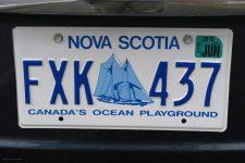 Kennzeichen Nova-Scotia