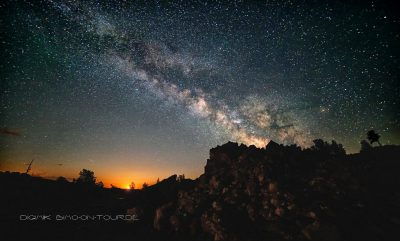 Milkyway and Moon