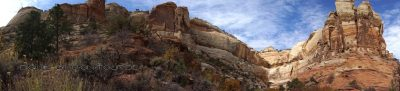 Calf Creek Panorama