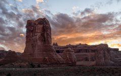 Arches Sonnenuntergang