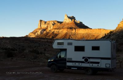 Boondocking Temple Montain