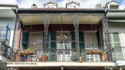 French Quarter Balkon