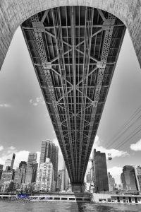 Unter der Queensboro Bridge