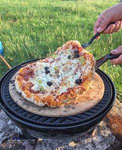 Pizzabacken mit dem Cadac
