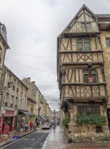 Bayeux-Einkaufsmeile