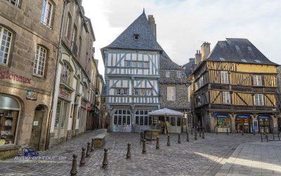 Dinan-Kleiner Marktplatz