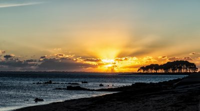 Locmariaquer-Sonnenuntergang