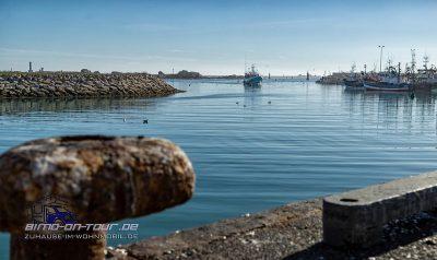 Saint Guénolé -Hafen