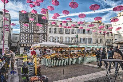 La Rochelle-Marktplatz