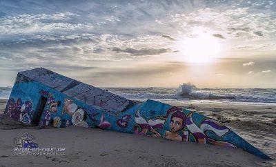 Bunker im Sand