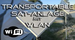 Transportable SAT Anlage