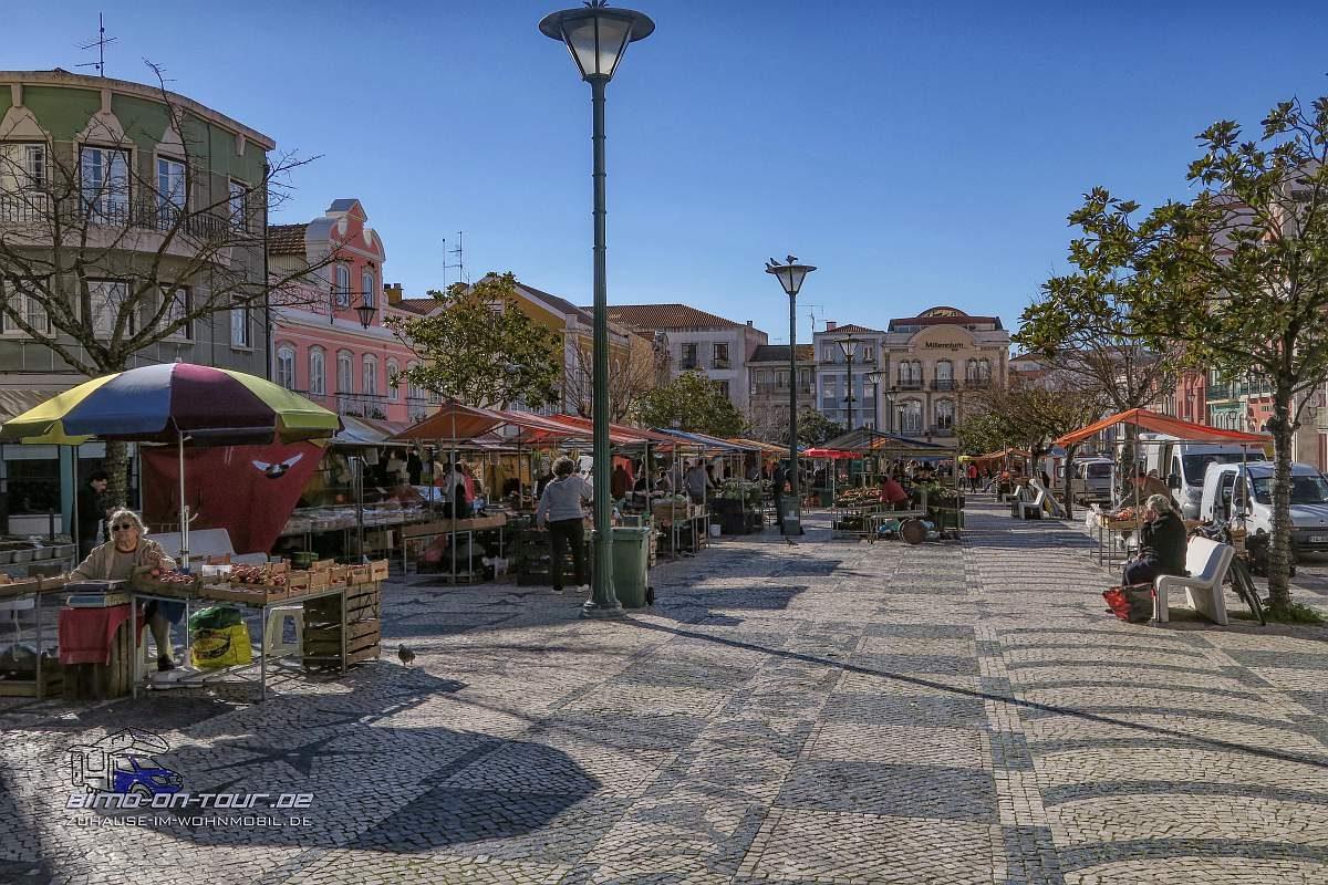 Caldas da Rainha Marktplatz