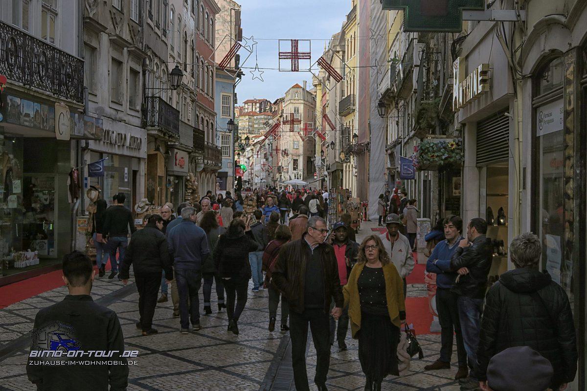 Coimbra-Einkaufssatrasse