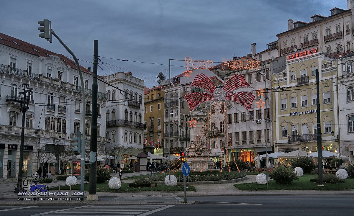 Coimbra-Portagem-Abend