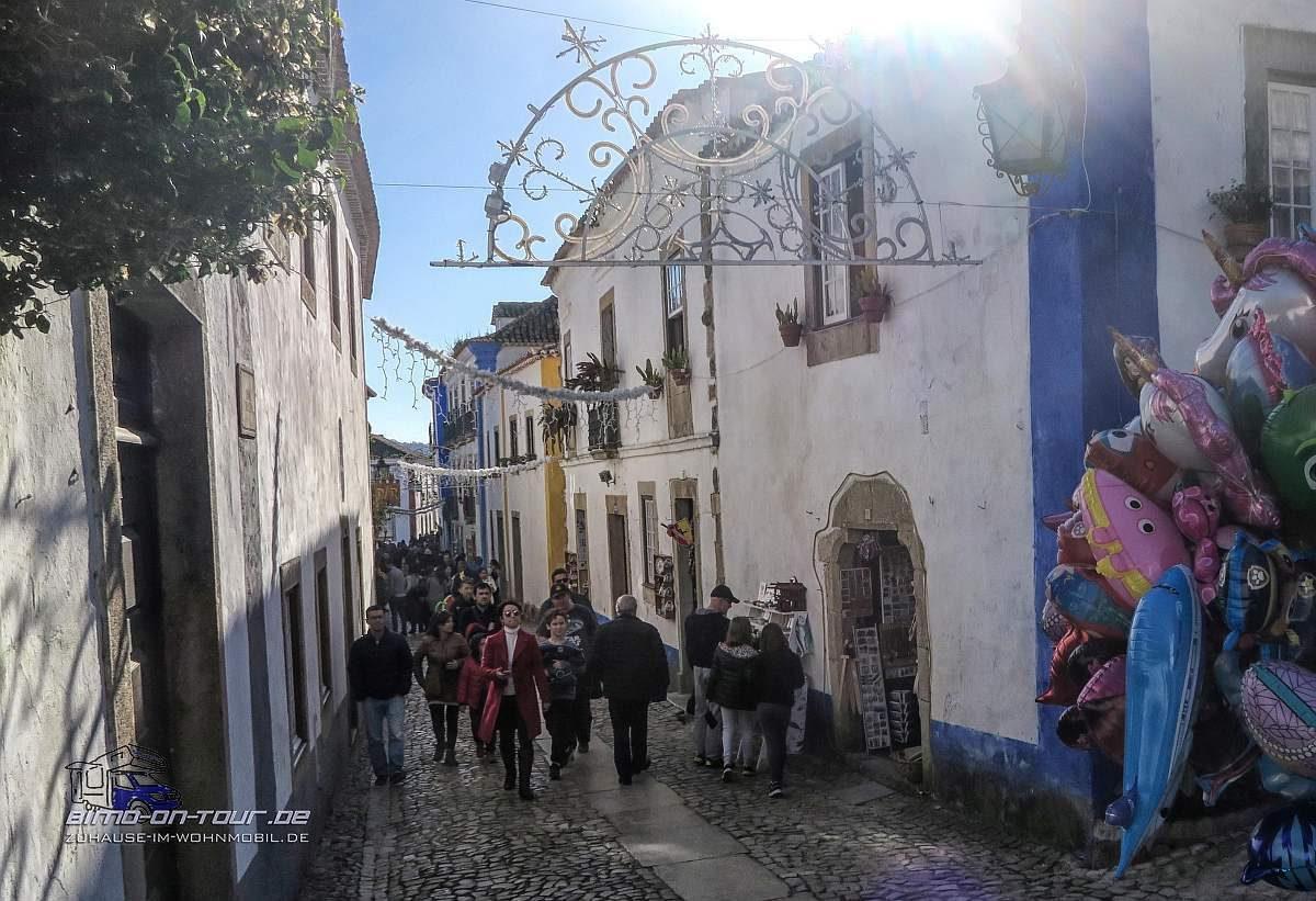 Obidos-Hauptstrasse