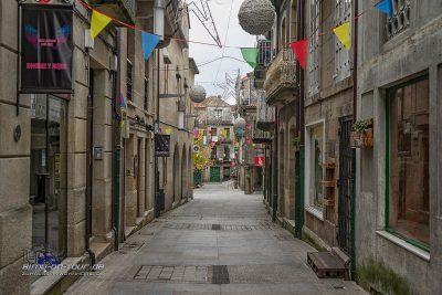 Pontevedra - Altstadtgasse