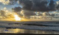 Praia de Afife -Sonnenuntergang