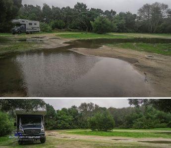 Praia de Rodanho-Stellplatz