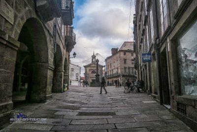 Santiago de Compostela Altstadt