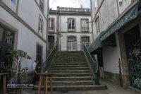 Santiago de Compostela-Treppe