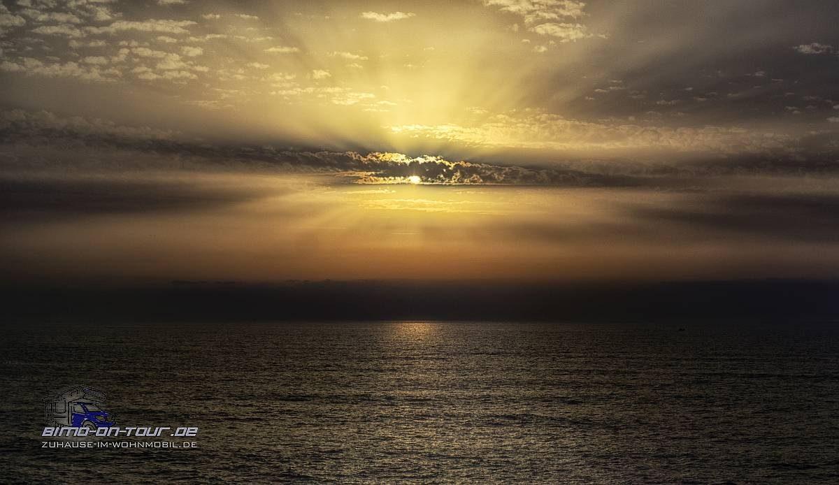 Sao Pedro de Moel-Sonnenuntergang