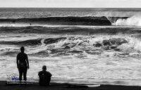 Surfer-Ruhepause