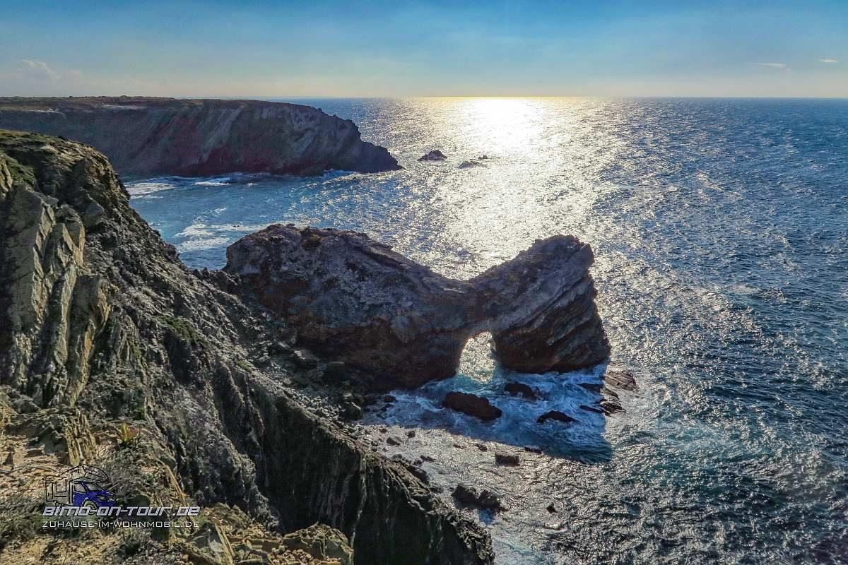 Cabo Sardao Küste mit Arch