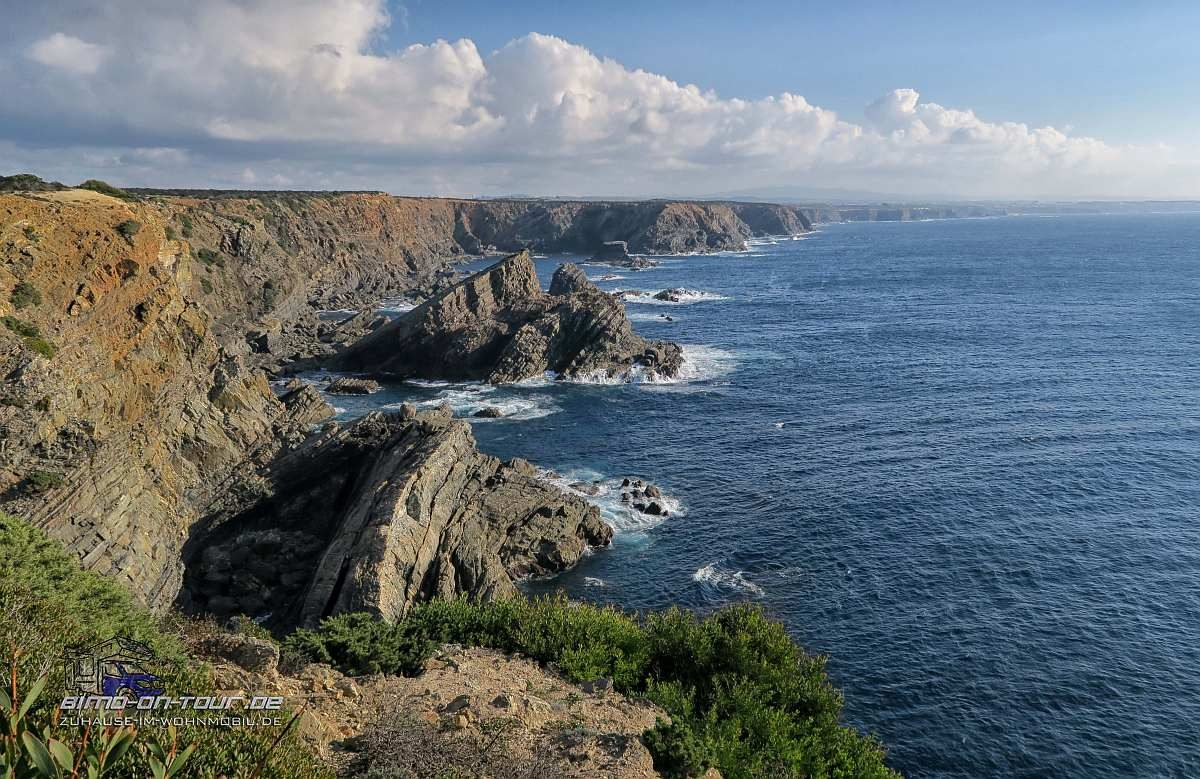 Cabo Sardao Küste