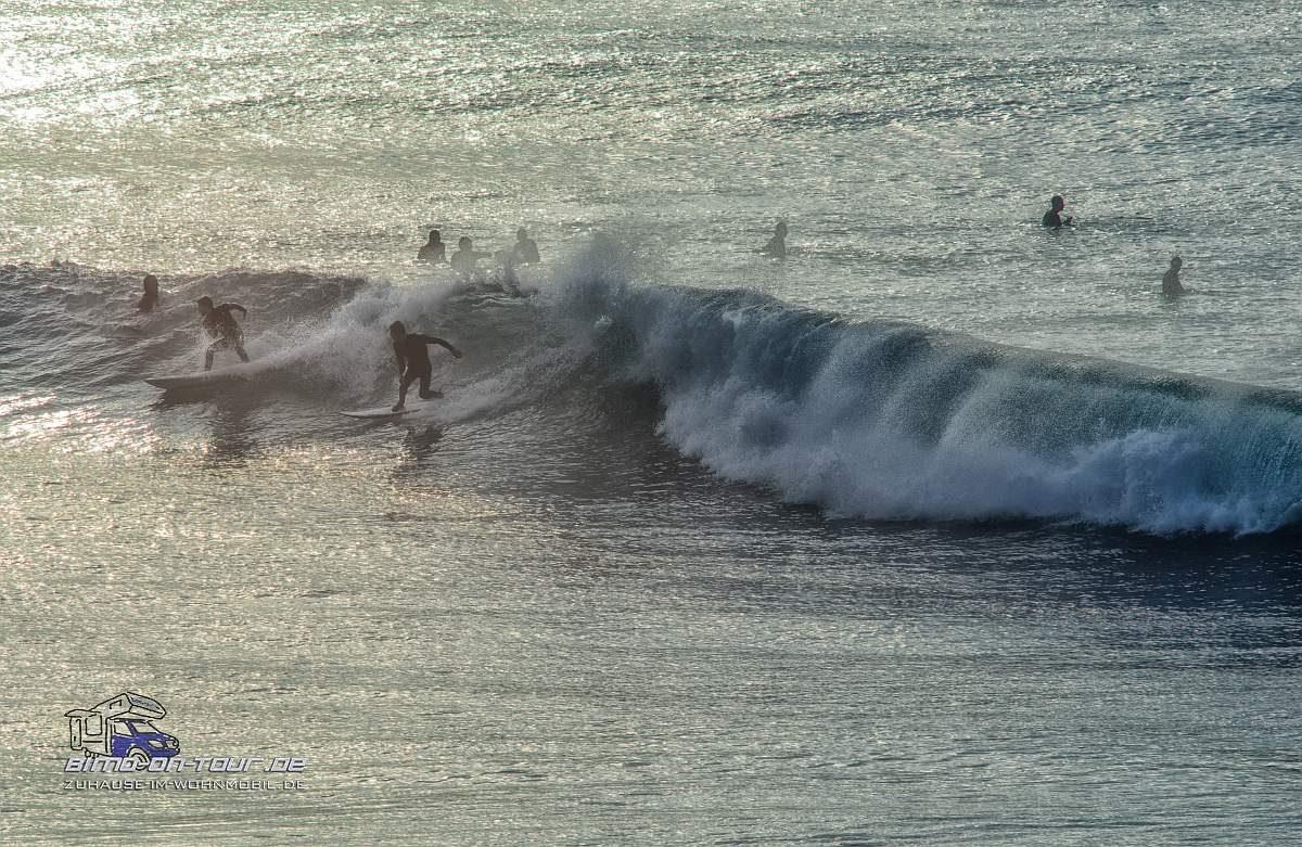 Praia de Crismina-Surfer