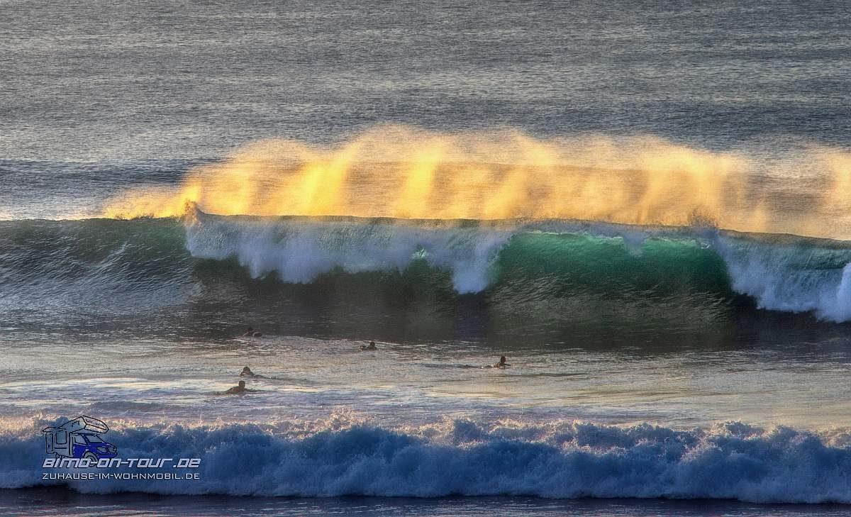 Brennende Welle