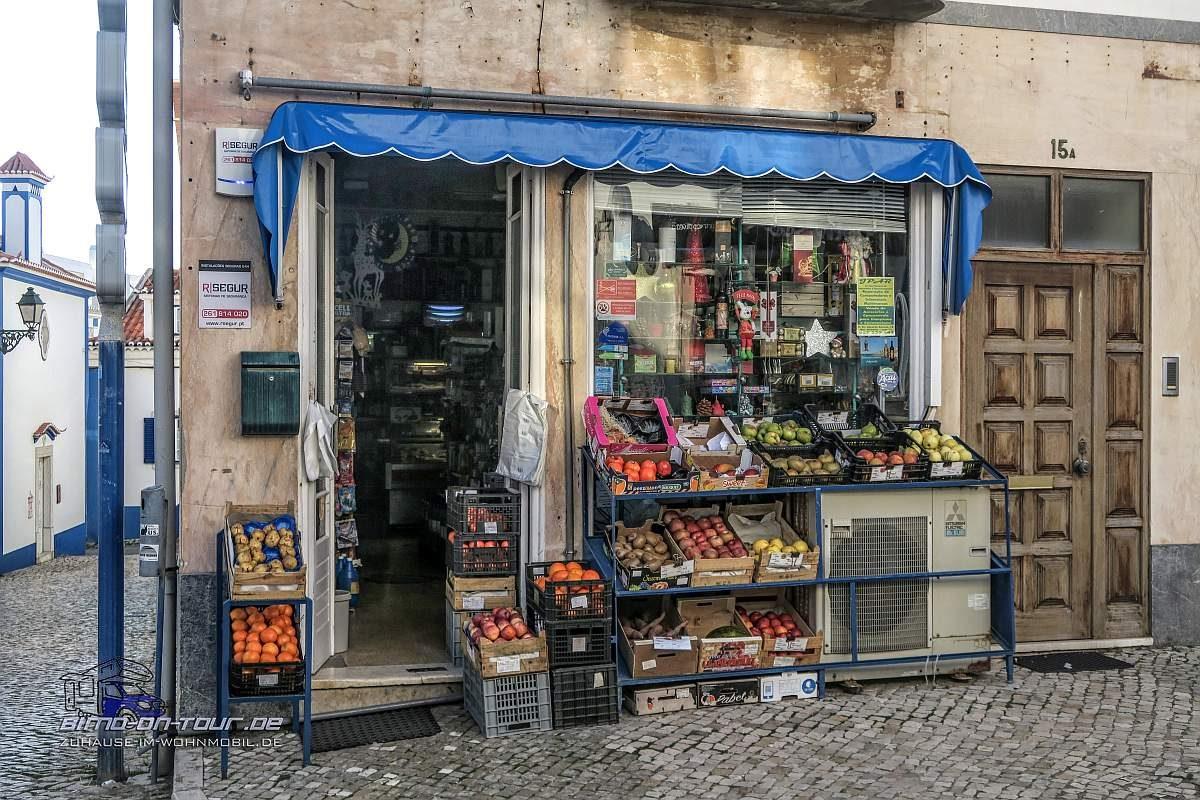 Ericeira-Altstadt-Laden