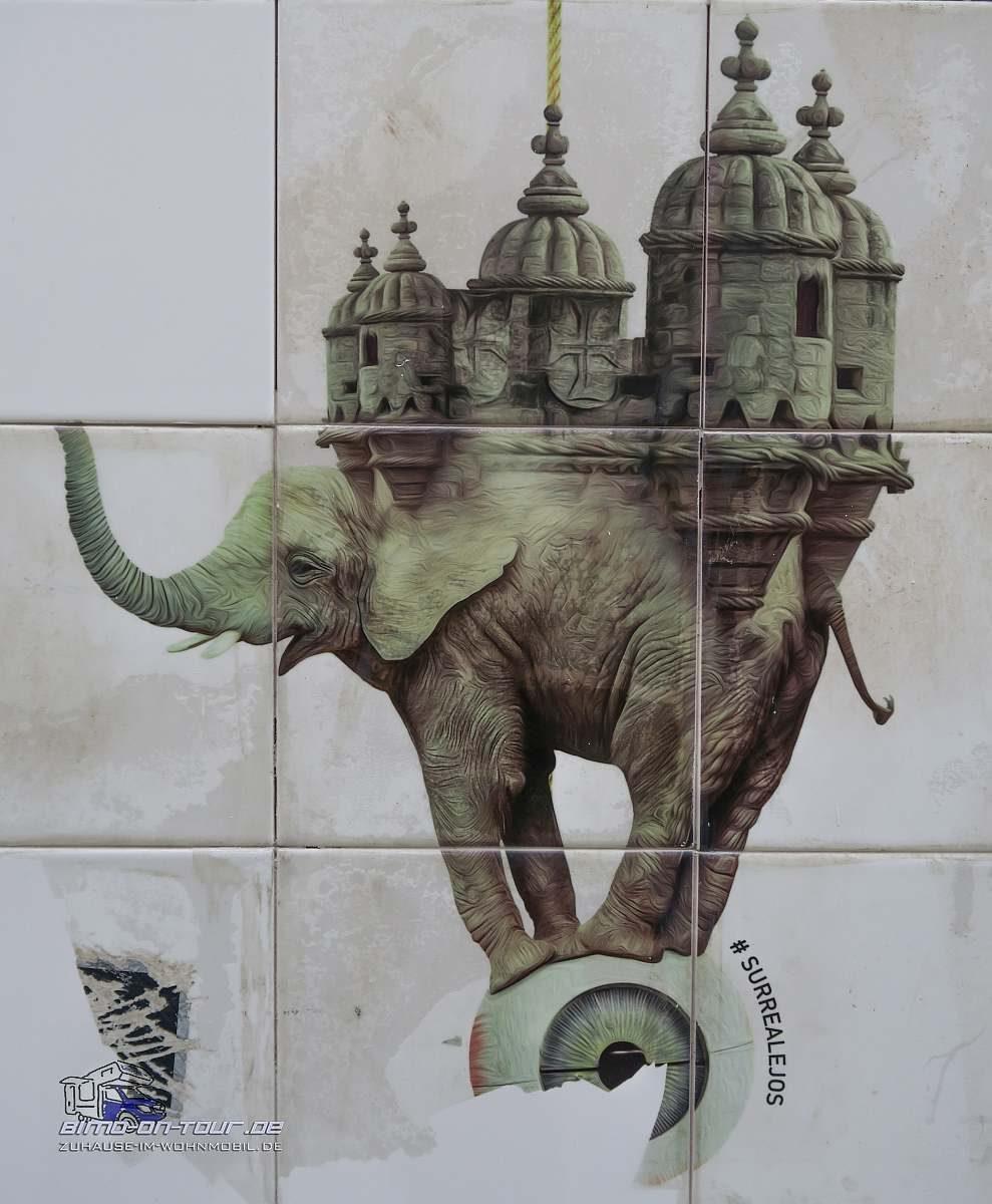 Lissabon- Surreale Kunst