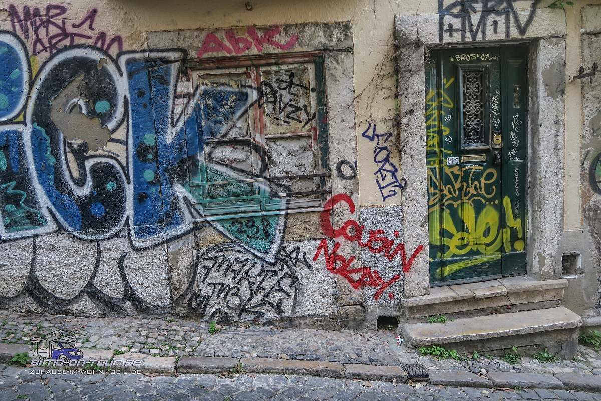 Lissabon-Graffiti