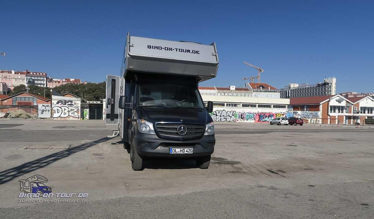 Lissabon-Stellplatz