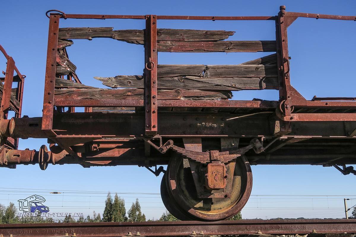 Lousal Mine-Eisenbahn