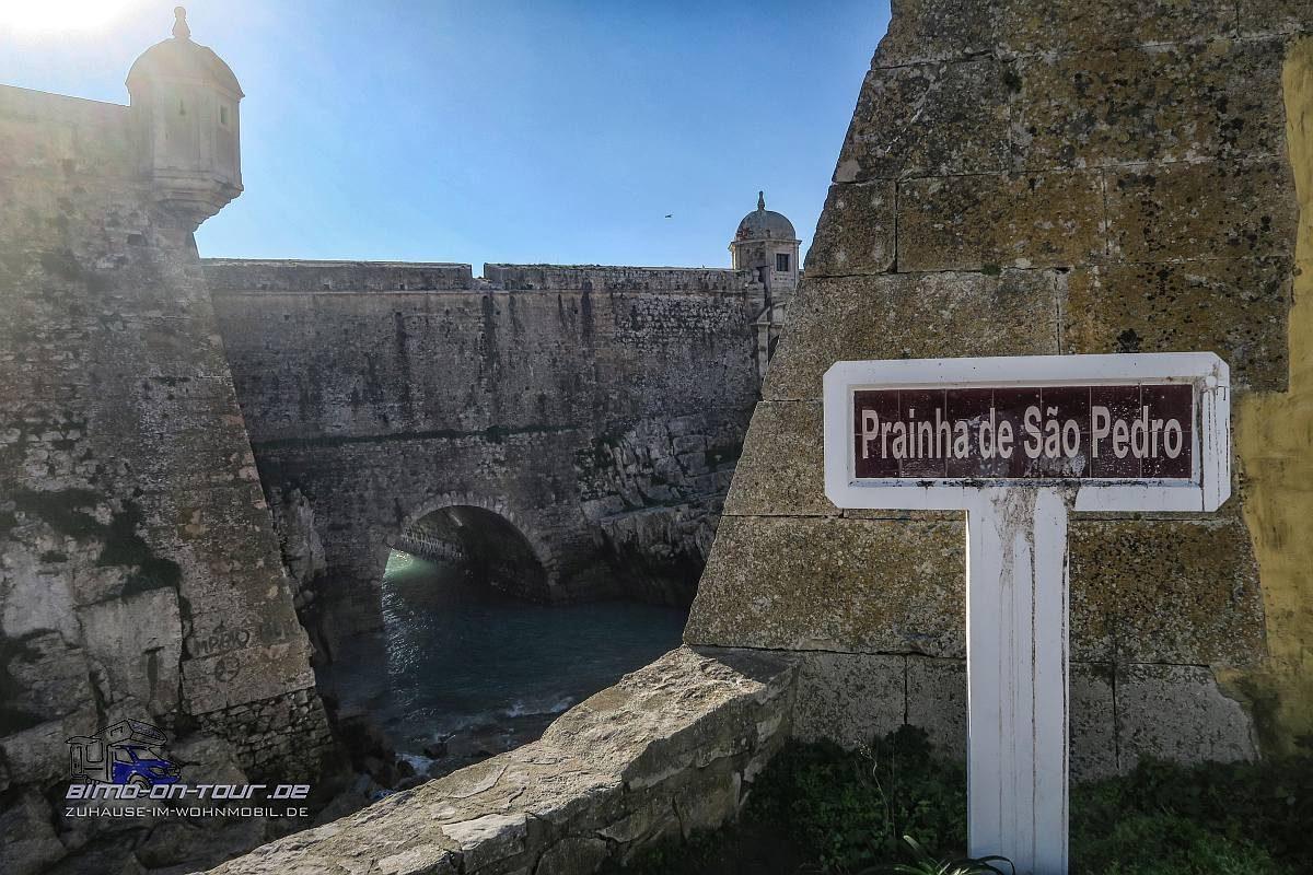 Peniche-Festung-Praia