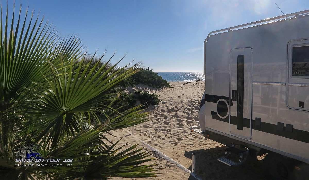 Praia do Cabeco-Stellplatz