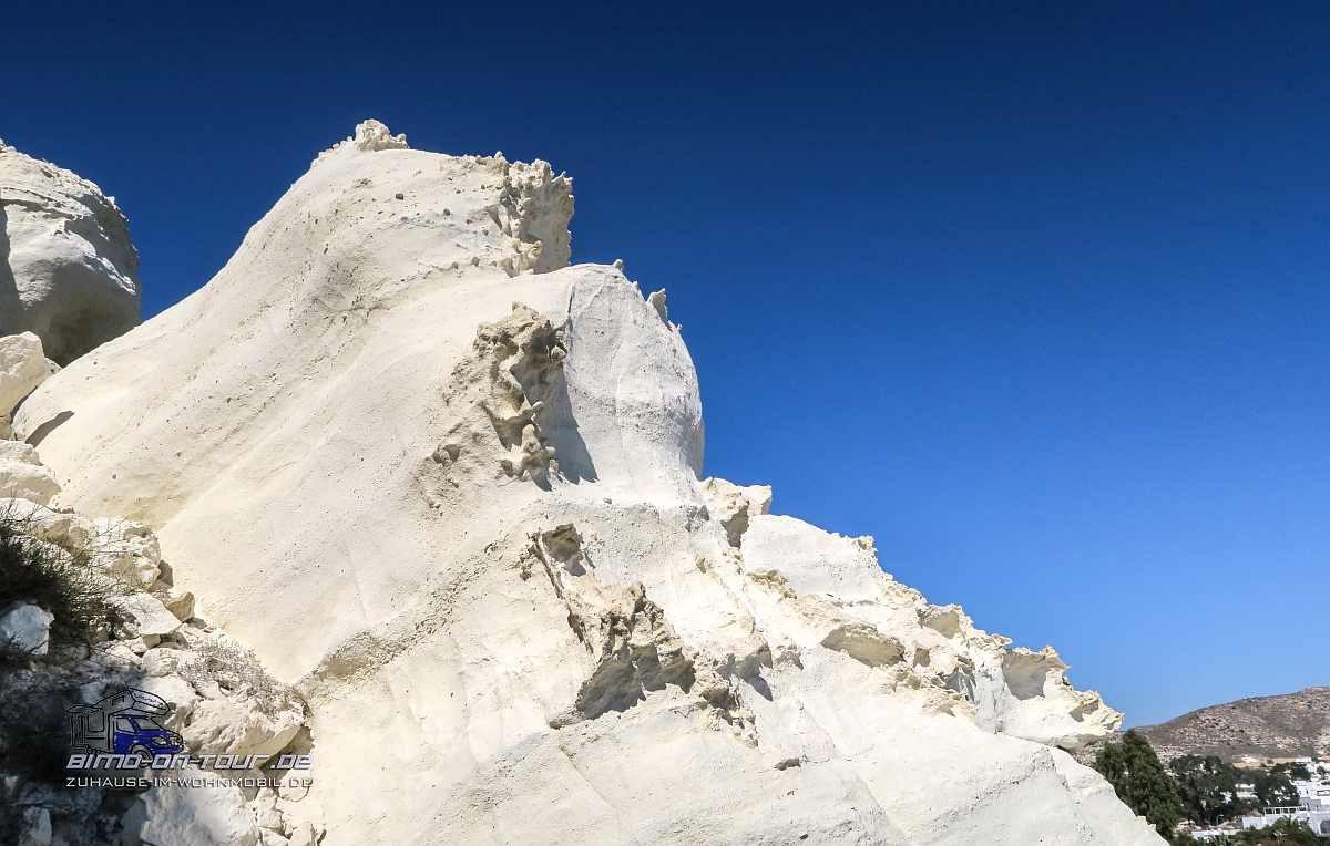 Agua Amarga-weiße Felsen