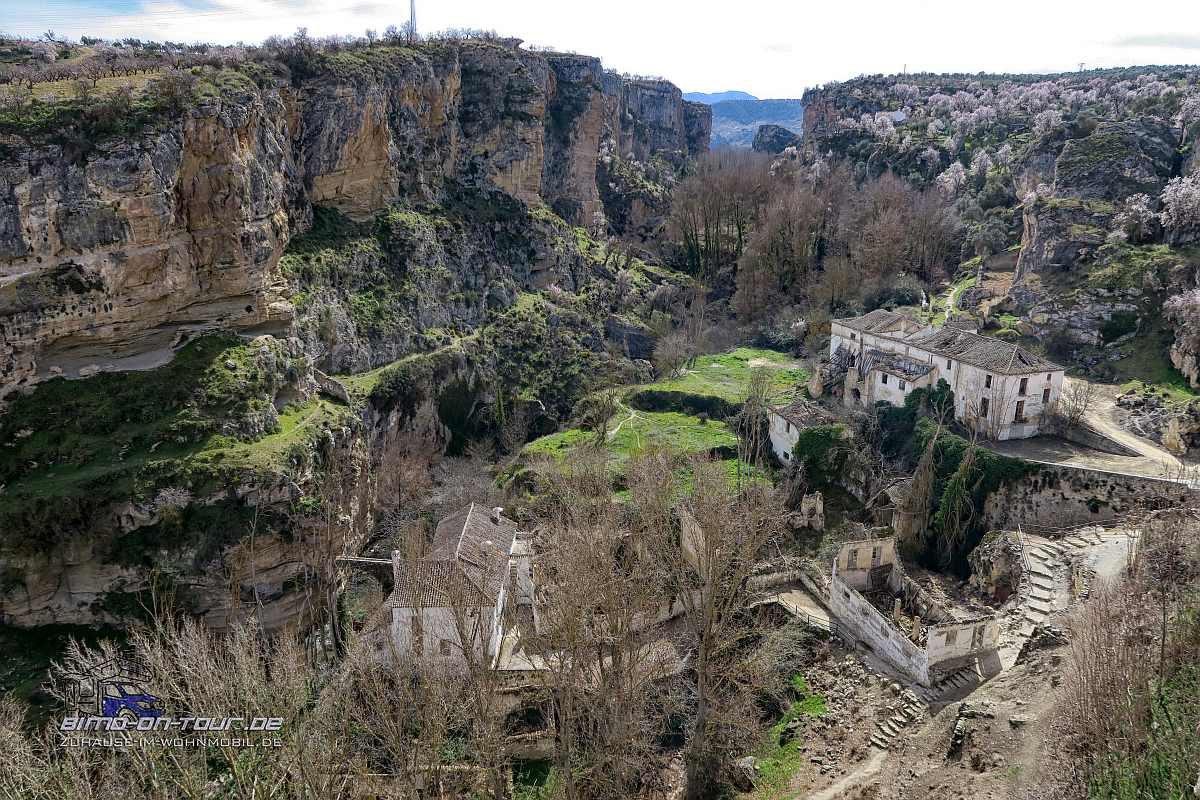 Alhama de Granada-Schlucht
