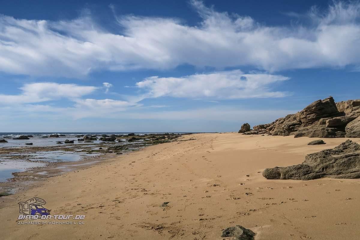 Cabo Trafalgar-Strand
